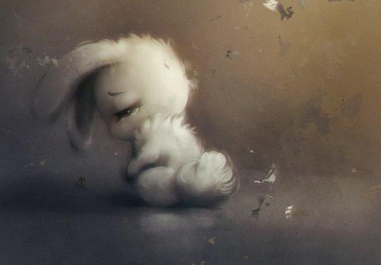 картинки грустных ангелочков