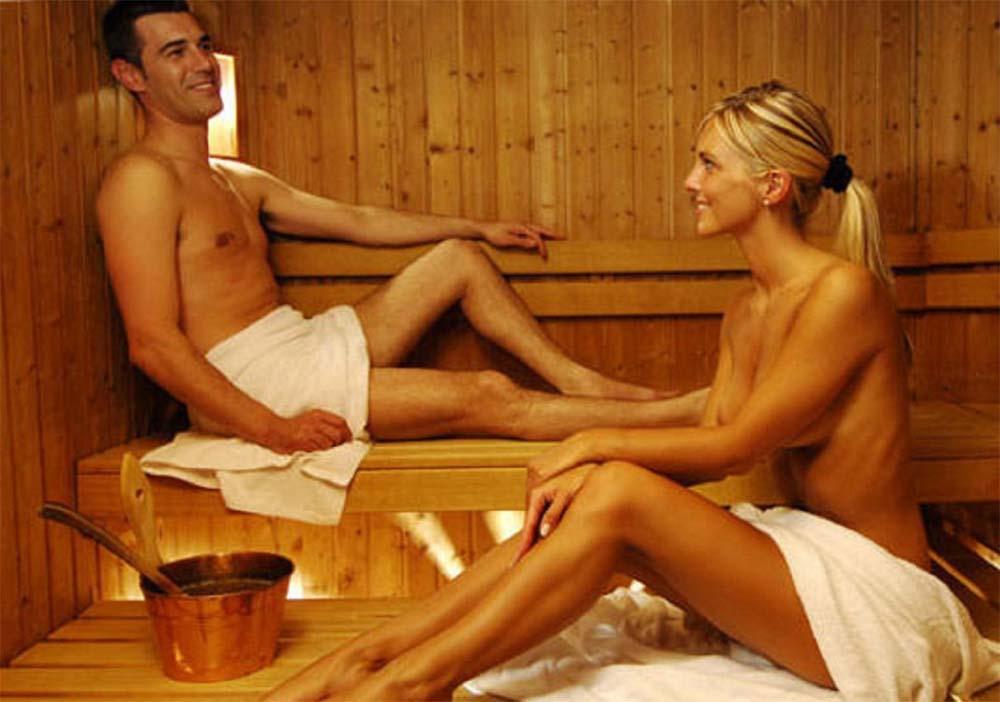 Фото парень и девушки в сауне 11 фотография