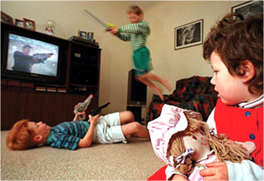 the negeative effects of television violence on children The focus of the study was limited only on the positive effects of television violence with 25 respondents significance of the study the study shall open the eyes of the parents/guardians that there is a positive effect of television violence that their sons/daughters are usually exposed to.