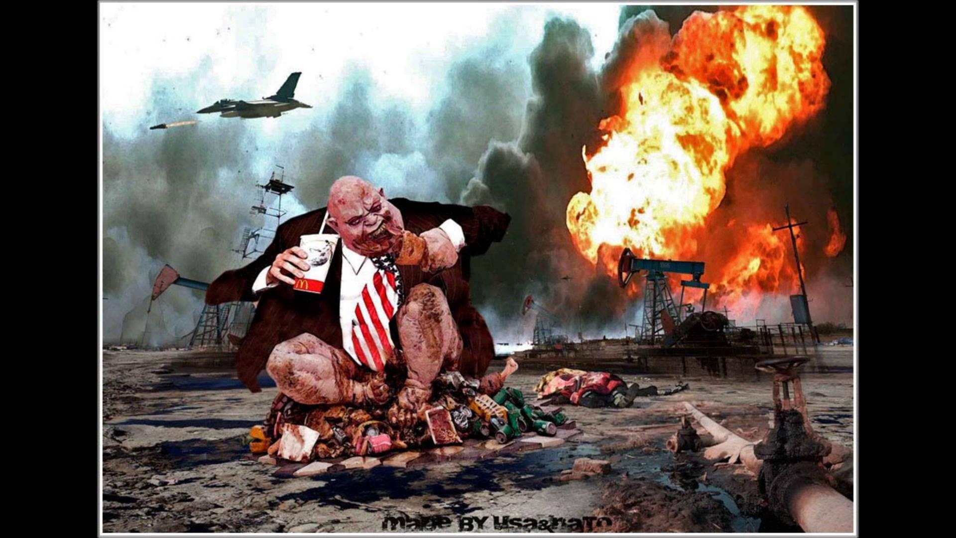 Экономический кризис в США провоцирует Третью мировую войну