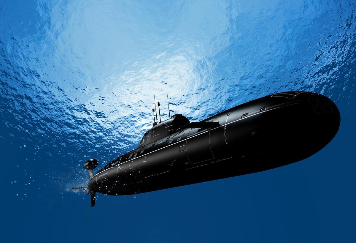 подводная лодка собери сам