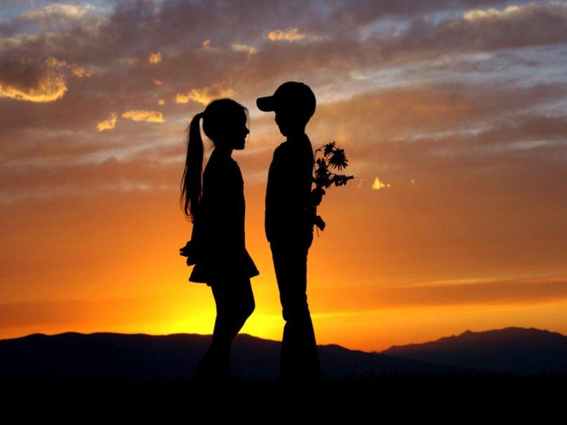 Картинки про любовь парень и девушка с надписью