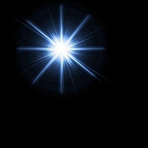 звезда картинка блик сдвигаем его