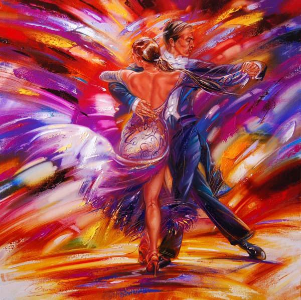 открытки на тему танцев