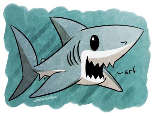 акулы рисунки легкие ведь пахан