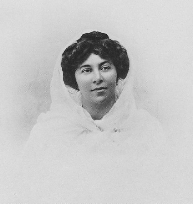 Анна Фидлер, супруга Коровина К.