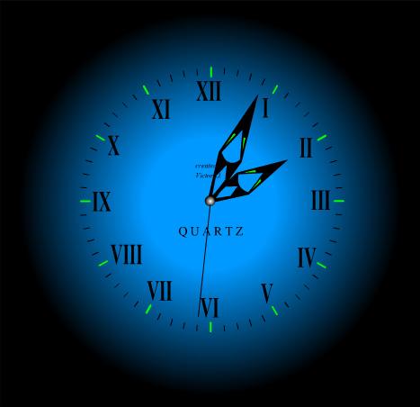 Картинка с часами которые двигаются