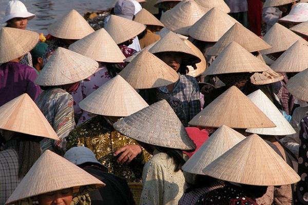 Вьетнамка головной убор своими руками 21