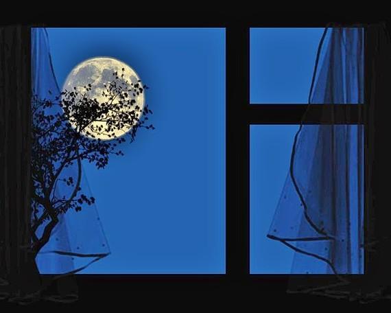Картинки окно луны