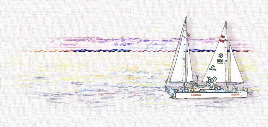Скучные записки о парусной кругосветке (Ханна Дарзи)   Проза.ру 55f381b7add