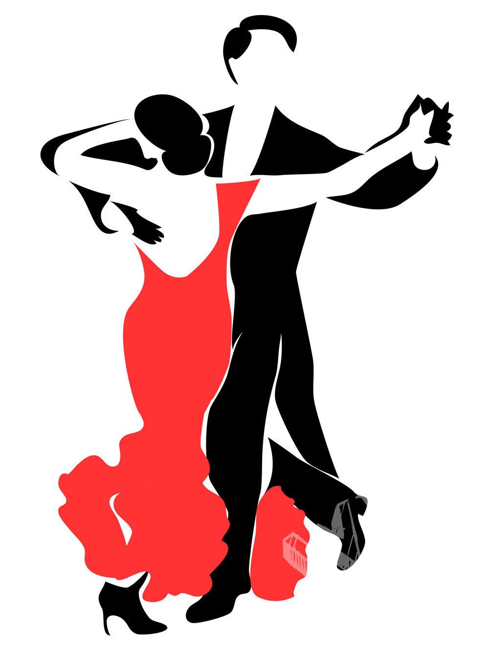Картинка танцевальная пара