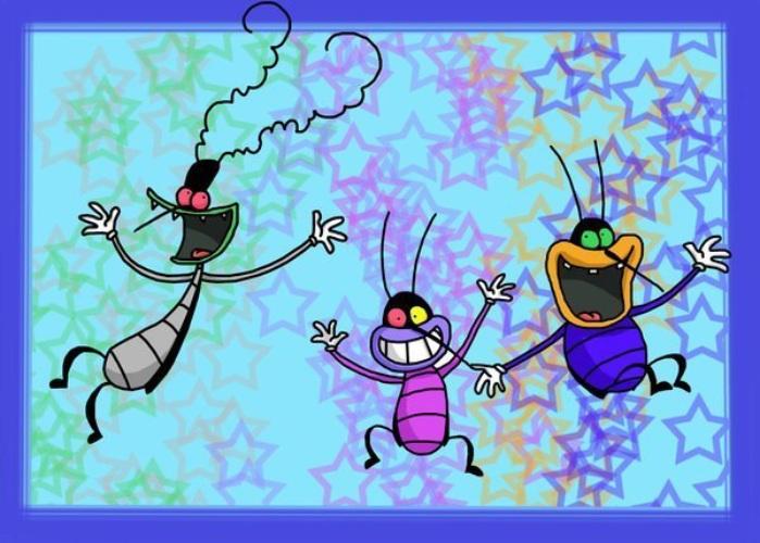 Картинки тараканы прикольные