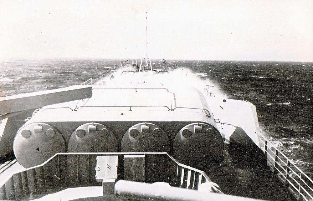 448 штормовая мёртвая зыбь 3 выход 28 августа 1973