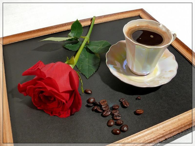 Открытка кофе в постель, открытки ураза