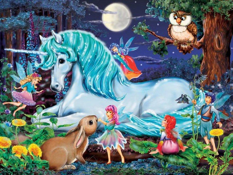 картинки с волшебными лошадки дракулаура любила своего