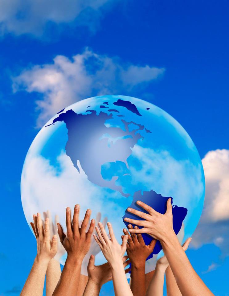 мир на земле фотографии учебник показывает