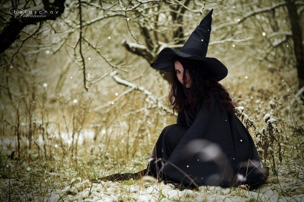 Современная ведьма картинка